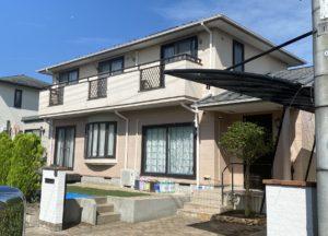 仙台市泉区|屋根塗装と外壁塗装 施工前