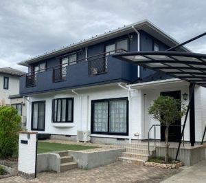 仙台市泉区|屋根塗装と外壁塗装 施工後